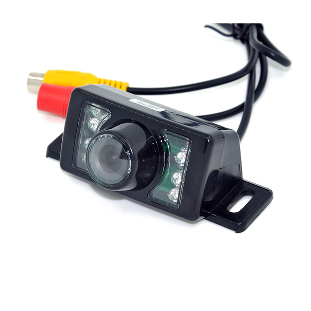 7LED Night Vision Car CCD Rear View Camera With 4.3 inch Color LCD Car Video Foldable Monitor Camera Auto Parking Assistance 1