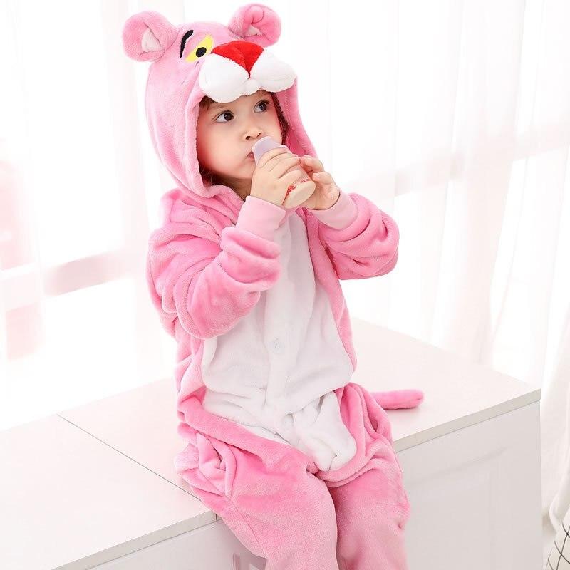 Nachtwäsche & Nachthemden Mutig 32 Neue Kinder Tier Pyjamas Set Jungen Mädchen Einhorn Tiger Pegasus Cosplay Winter Mit Kapuze Kinder Nachtwäsche Onesie Flanell Pyjamas Jungen Kleidung