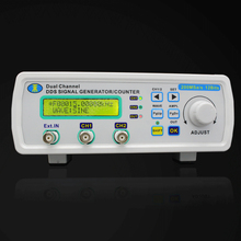 12MHz Digital Signal Generator Dual-channel DDS Function generator Arbitrary Sine Waveform Frequency generator 200MSa/s free shipping mhs 3200a 12mhz dds nc dual channel function signal generator dds signal source 4 kinds of waveform output