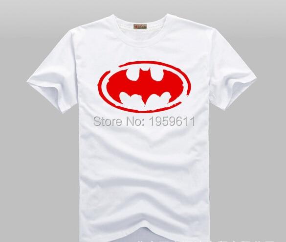 Classic batman Comic Super Hero T-Shirt t shirt SHIRT Superman Batman  Movie Men Cosplay T Shirts