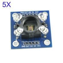 5pcs/lot TCS230 TCS3200 Color Sensor Module Recognition Detector Led  for Arduino GY-31