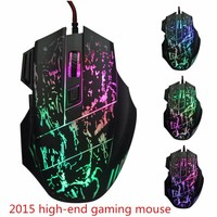 USB Wired Gaming Mouse 3200DPI LED Optices 6D Mice Professional Cable Players For Notebook Driver Free