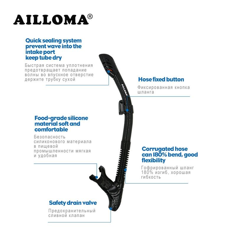 AILLOMA 유연한 풀 드라이 스쿠버 다이빙 스피어 낚시 - 수상 스포츠 - 사진 2