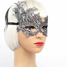 Sexy Lace Mask Masquerade Halloween Mask Party Cosplay Cat Female Eye Mask Carnival Spherical Female Mascara Carnival Mask Props все цены