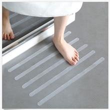 12Pcs/6pcs Anti Slip Bath Grip Stickers Non Slip Shower Strips Flooring Safety T Stickers Muraux Non Slip Shower Strips