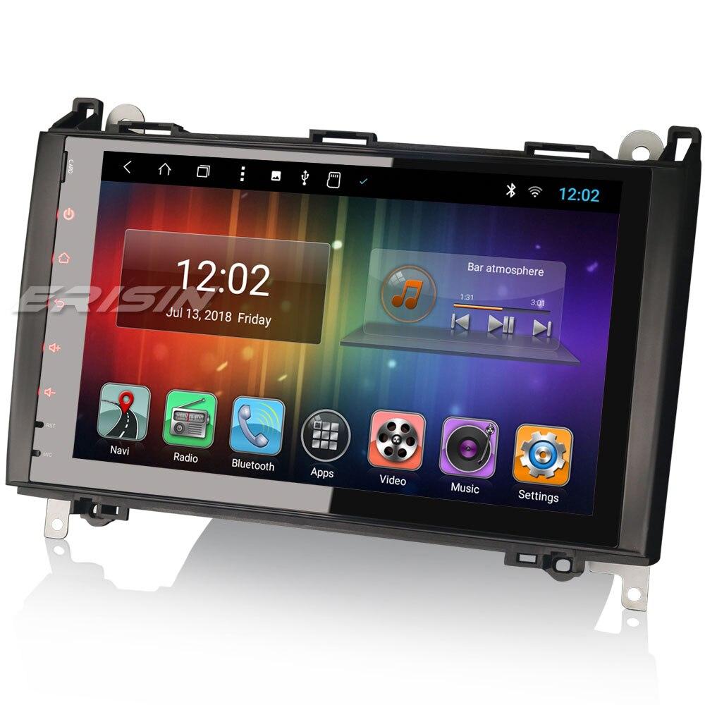 erisin es8292b android 8 1 t8 autoradio car dvd player 4g. Black Bedroom Furniture Sets. Home Design Ideas