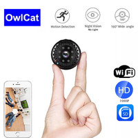 HD 1080P Wireless WIFI Mini Camera Small Cam Night Vision Wide Angle Camcorder Micro DVR Video Camcorder BVCAM Phone Control