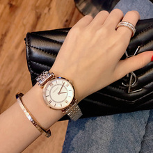 New Fashion Rose Gold Stainless Steel Watches Women ladies casual dress quartz wrist watch luxury 2019 reloj mujer  Toluck Brand 2016 guote hot luxury brand fashion casual quartz watches men gold full stainless steel wristwatch women dress watch reloj mujer
