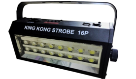Hot sell high power super bright DMX Voice control 16 LED Stroboscope 400W Strobe Lamp Party Disco DJ Bar Light strobe lights-in Stage Lighting Effect from Lights & Lighting