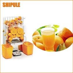 Darmowa wysyłka automatyczny handlowa orange lemon granatu sokowirówka maszyny dociskowej; wyciskarka do cytrusów maszyna do orange soku