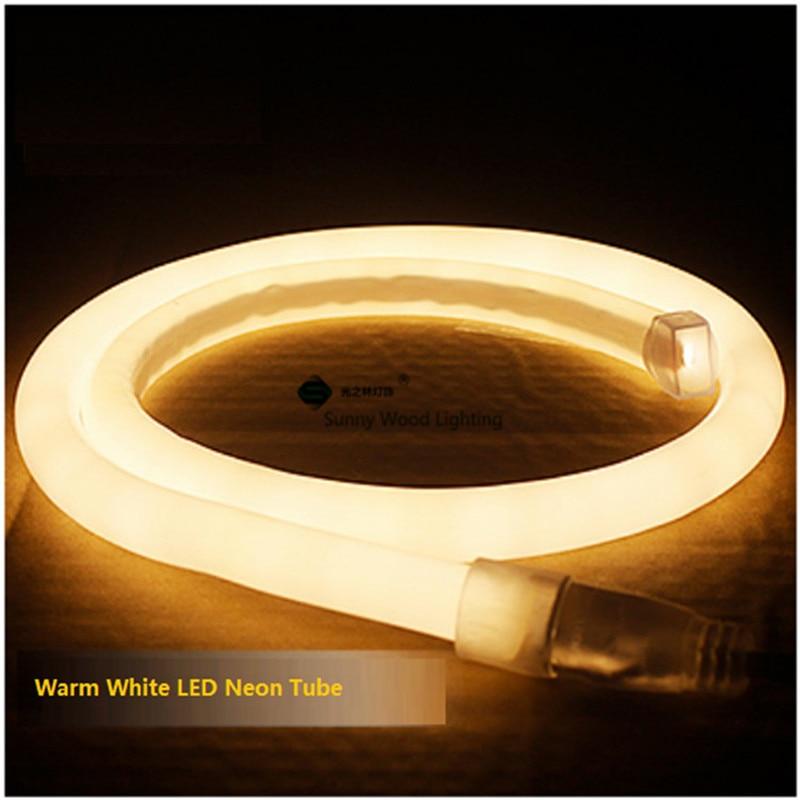 5 15 m dhl 16mm de diametro padrao rodada neon flex 120 pcs 2835 m de