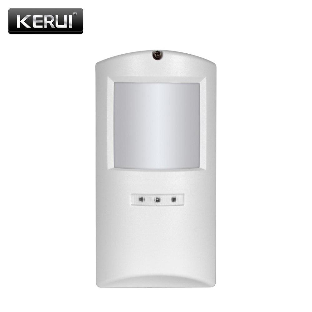 KERUI P808 sans fil étanche extérieur Anti-pet PIR détecteur de mouvement alarme capteur de mouvement pour Kerui GSM WiFi système d'alarme