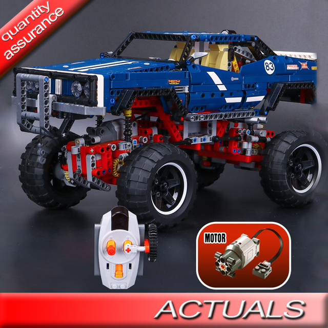 Lepin 20011 Technic Building Blocks 4x4 Crawler Exclusive Edition Electric Motors Functions Compatible With Lego 41999
