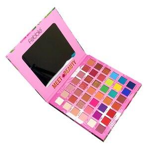 Image 5 - Palette de fards à paupières pigmentés, longue tenue, Palette de fard à paupières pigmentée, effet mat, beauté, Palette de maquillage