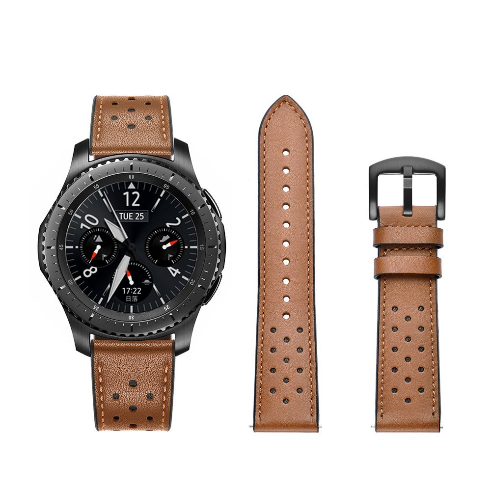 Genuine Leather Watch Strap For Samsung Gear S3 Band Replacement Watch Bracelet For Gear S3 Classic frontier 22mm 22mm sports silicone strap for samsung gear s3 frontier band for gear s3 classic rubber watchband replacement wristband