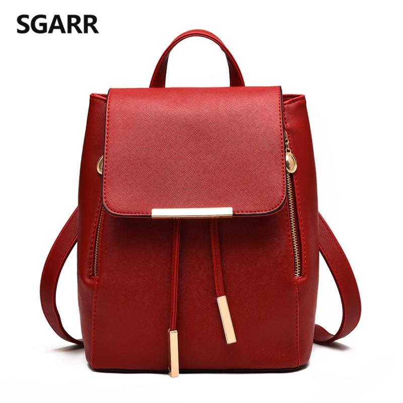 sgarr mulheres mochilas sólidos bolsa Abacamento / Decoração : Nenhum