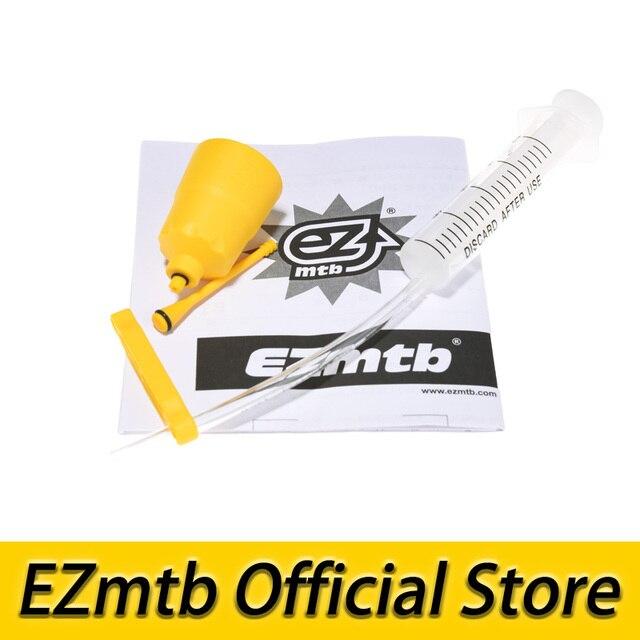 Envío gratuito 2018 el más nuevo kit de purga ezmtb embudo/tapón de aceite para freno de disco de bicicleta shimano