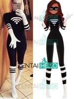 Free Shipping Custom Made Miraculous Ladybug Cosplay Costume Alay Lady Wifi Superhero Costume Alay Suit Lycra Spandex Costumes