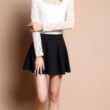 Mùa Hè Hàn Quốc Váy Nữ Gợi Cảm Mini Jupe Femme Váy Xếp Ly Faldas Cortas Saia Vũ Jupe Phối Voan Váy Đáng Etek tutu