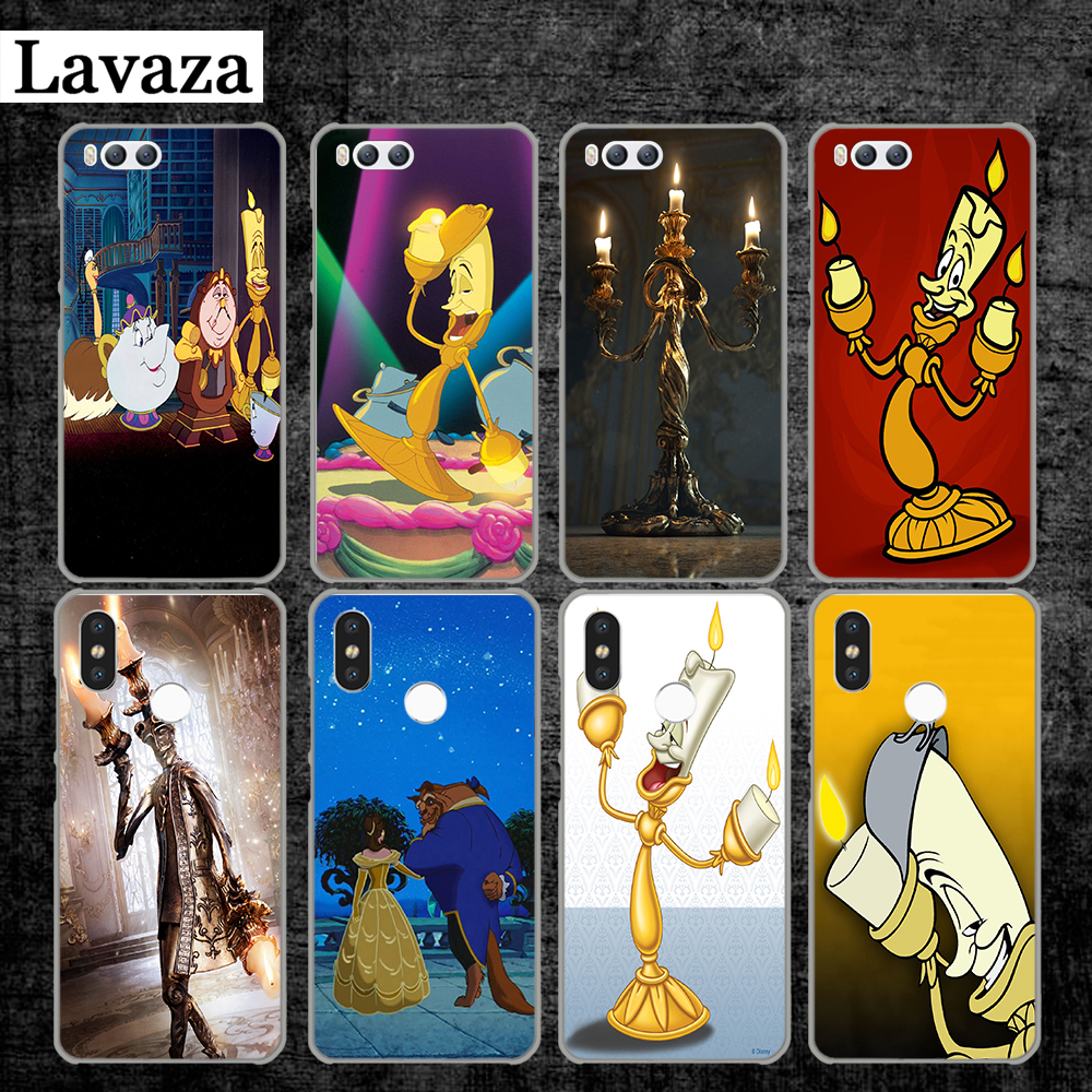 Lavaza the beauty and beast Candle Hard Case for Xiaomi MI 5 5S 6 8 9 SE Lite F1 A1 A2 5X 6X Mix 2S MAX 3