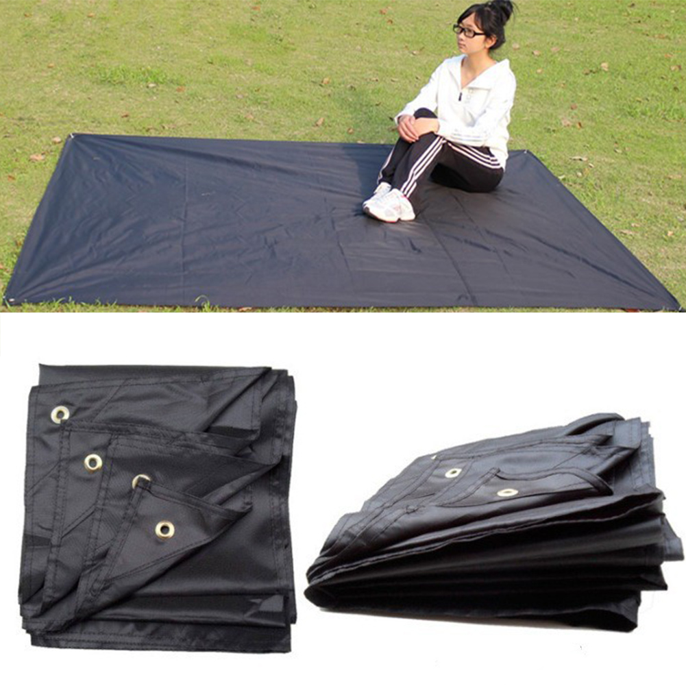 Tarp Airbed Waterproof Outdoor Picnic Beach Camping Mat Tarpaulin Bay Play Mats Plaid Blanket