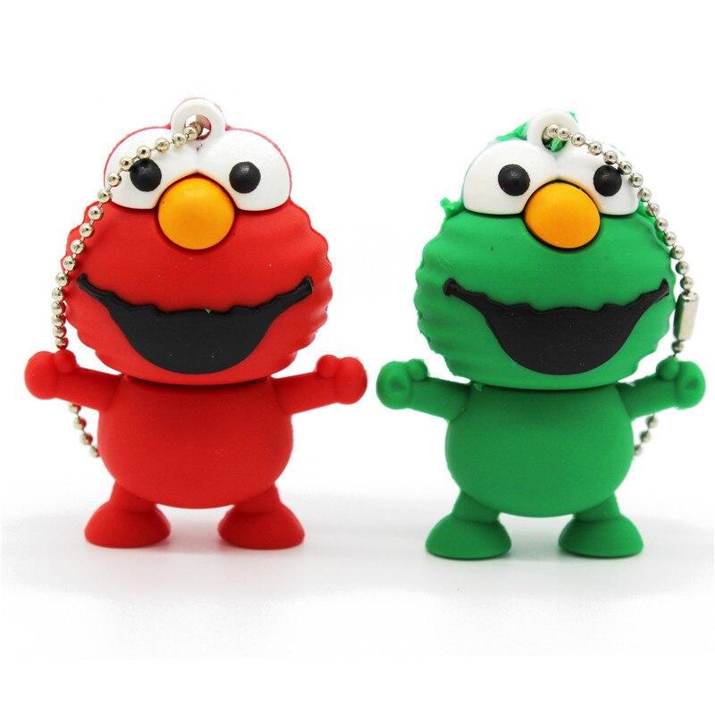 Cute Cartoon Usb Flash Drive Gifts Animal Frog 128GB 2GB 4GB 8GB 16GB 32GB Frog Pen Drive