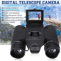 New Full HD 2 LCD BD318 Zoom Digital Binoculars Telescope Video Camera Outdoor Telescope Hunting Camera Telescope 12X32 Hot
