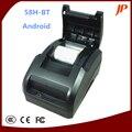 El envío libre de Escritorio Android IOS Bluetooth Impresora térmica USB + Bluetooth de la impresora térmica