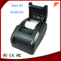 Free shipping  Desktop Android IOS Bluetooth thermal Printer USB+Bluetooth thermal printer