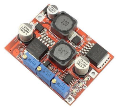 DC-DC Step Up Down Boost Buck Voltage Power Converter Module LM2577S+LM2596S