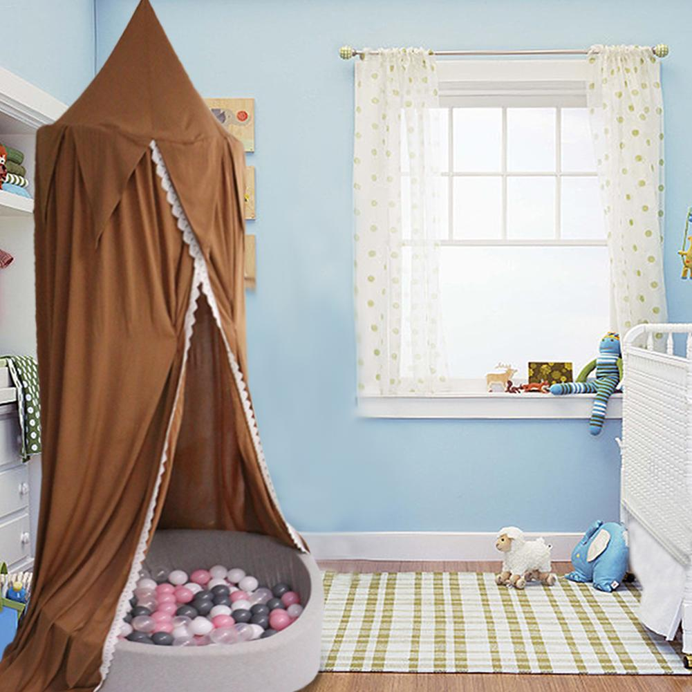 Bed Canopy Net Room Lace Cloth Dome Hanging Curtain Decoration Photograph Props Baby Crib Tent In Netting From Mother Kids On