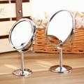 Творческий Металл Рабочего Стола Зеркало Для Макияжа Двусторонний Увеличительное Зеркало Небольшой Вращающийся Зеркало 1: 2 Увеличение Функции