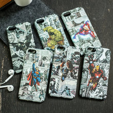 Marvel Comics Matte Phone Case for Iphone – Iron man