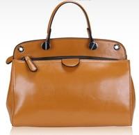 2016 NEW Women GENUINE LEATHER Handbag Italian Stylish Lady TOTE Women Crossbody Bags Fashion Bag For