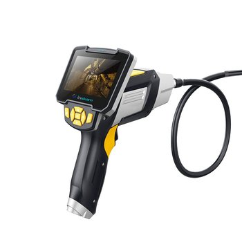 Industrial Endoscope Camera 4.3-inch Digital1080P HD LCD Screen In Surveillance Cameras Professional Auto Inspection Borescope