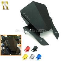 Motorcycle MT 07 Black Color Windshield Motorbike Aluminum Windscreen For Yamaha MT07 MT 07 2013 2014