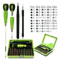 Profession 53 In1 Multi Bit Precision Torx Screwdriver Tweezer Mobile Phone Repair Tool Combination Square Tools