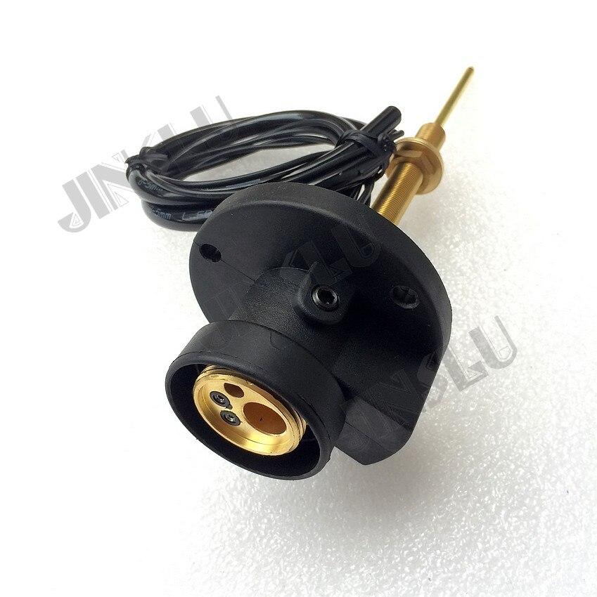 Maschine Seite Euro Adapter Adapter Stecker Connecter für MIG schweißen taschenlampe pistole Binzel 15ak 25ak 24kd 36kd MIG-160 JINSLU