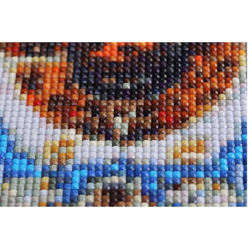 0.01 usd voor gemiste kleur 5d Diy Diamant Schilderen Kruissteek 5D Diamant Mozaïek Diamant Borduurwerk Schilderijen door numberZP-2800