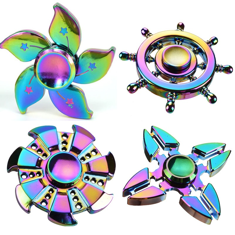 2017 New Fidget Spinner High Quality Hand Spinner finger spinner For Autism and ADHD Anti Stress spiner Toys Adult Kids Gift infinity cube new style spinner fidget high quality anti stress mano metal kids finger toys luxury hot adult edc for adhd gifts