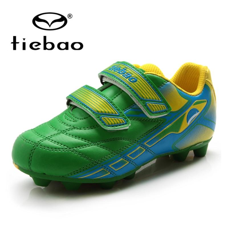 Billiger Preis Tiebao Campus Fußball Schuhe Kinder Kinder Fußball Stiefel Fußball Schuhe Outdoor Gras Ag Fußball Mutter-kind Schuhe Eu28-36