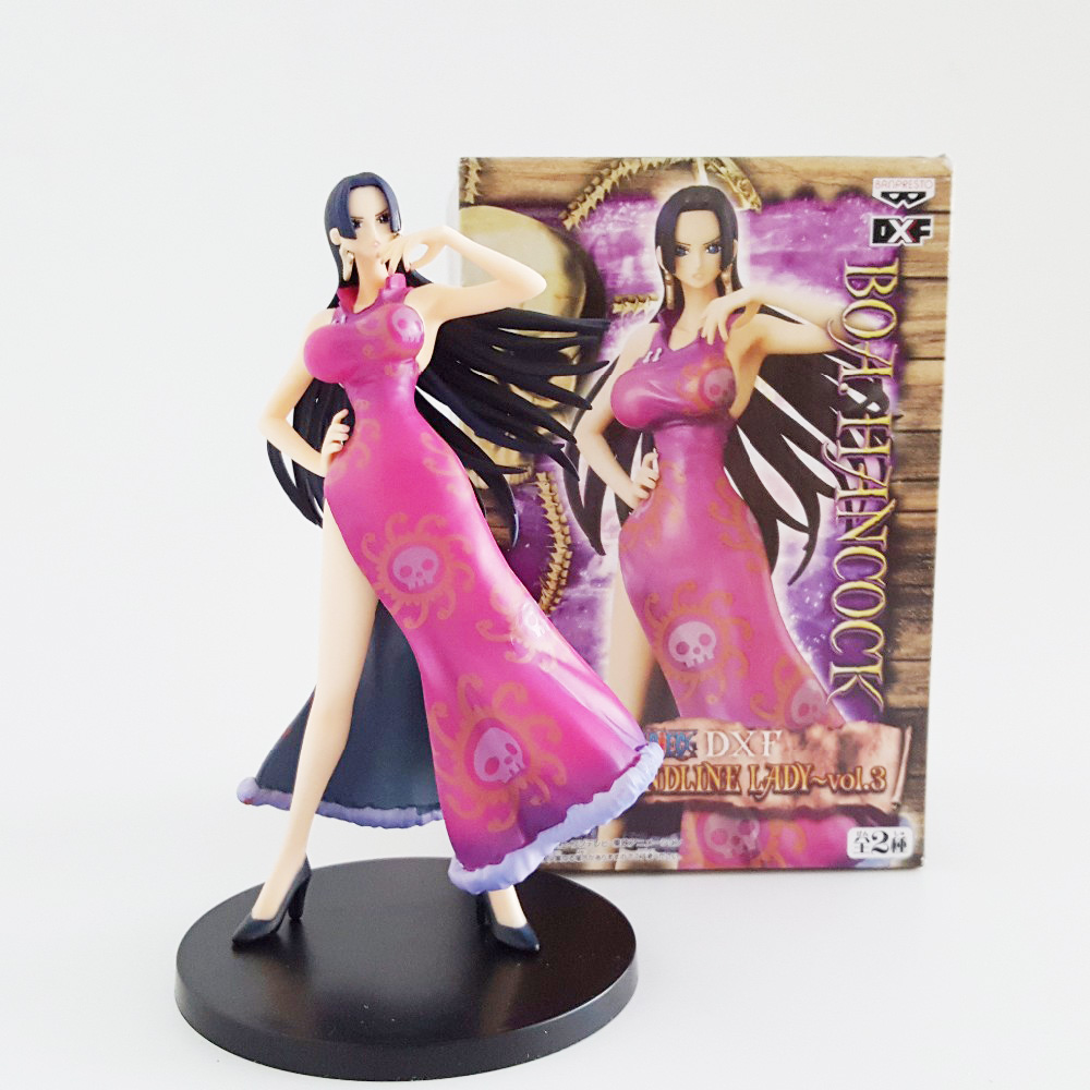 Tobyfancy One Piece Boa Hancock Figures Sexy Model Toys DXF Onepiece 180mm Boa Hancock Collecton Model Toy