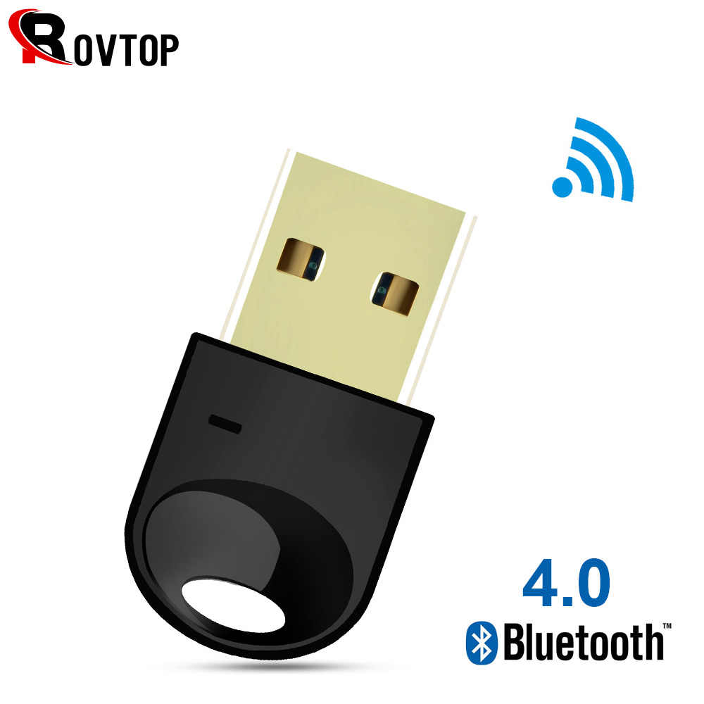 Draadloze USB Bluetooth Adapter 4.0 Bluetooth Dongle Muziek Sound Receiver Adaptador Bluetooth Zender voor Computer PC Laptop
