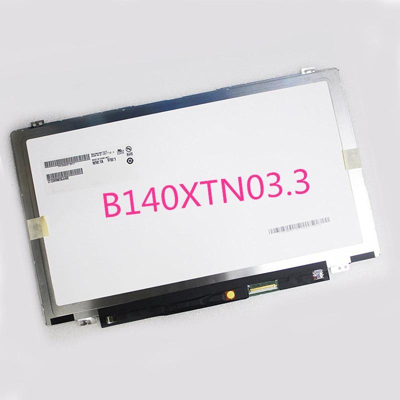 B140XTN03.3 Pour Lenovo e440 y410p y430p t440p u430p G40-70 eDP 30pin LCD Écran led Affichage Tout Neuf
