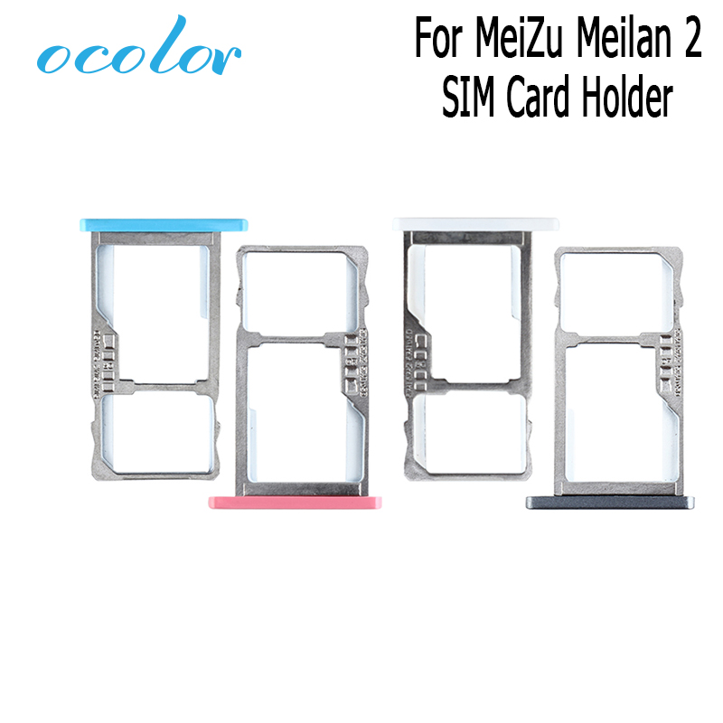 ocolor for meizu meilan 2 new sim cards adapters for meizu meilan 2 sim card tray slot holder