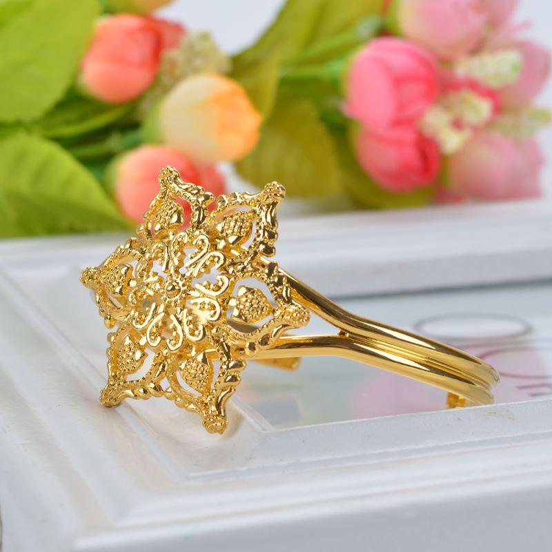 Bizhuteri me luksoze të hollë me shami Shamty Vendos Lule Ngjyrë e - Bizhuteri të modës - Foto 5