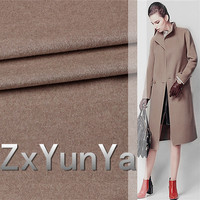 New high quality 148cm wide cashmere wool fabric 91.7% cashmere wool camel like wool cashmere fabric autumn and winter clothing