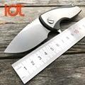 LDT Malyshev Gnome Folding Messer D2 Klinge Titan Griff Camping Outdoor Survival Messer Taktische Messer Mini Tasche EDC Werkzeuge-in Messer aus Werkzeug bei