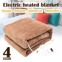 160x130cm Electric Blanlet Mat 220V Auto Electric Heated Blanket Mat Single control Dormitory Bedroom Heating Carpet Washable