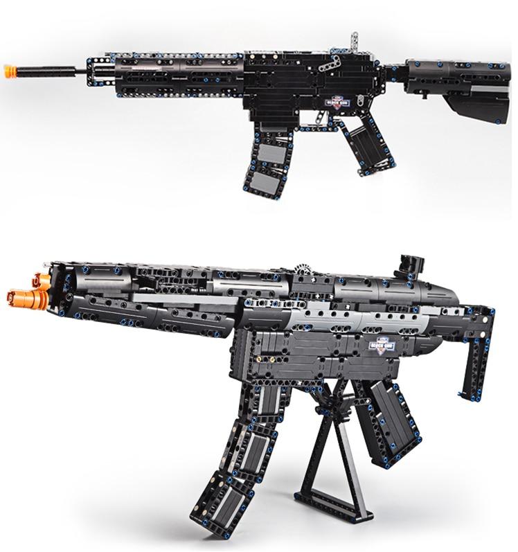 ბრენდები Toy Gun M4A1 Airsoft Air Guns and MP5 Toy - გარე გართობა და სპორტი - ფოტო 2